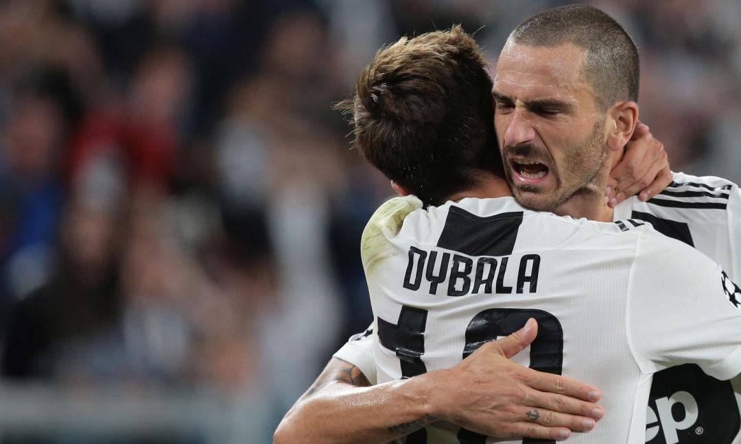 Bonucci il più presente, Dybala goleador: i protagonisti dell'era Allegri
