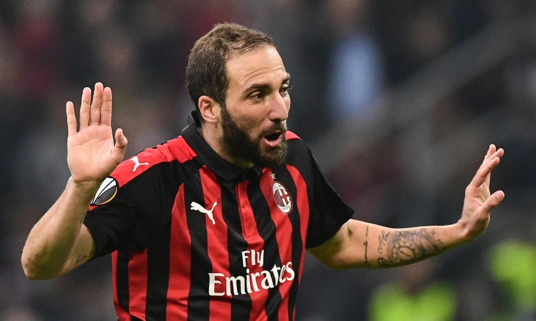 Milan: Higuain verso il recupero per la Juventus