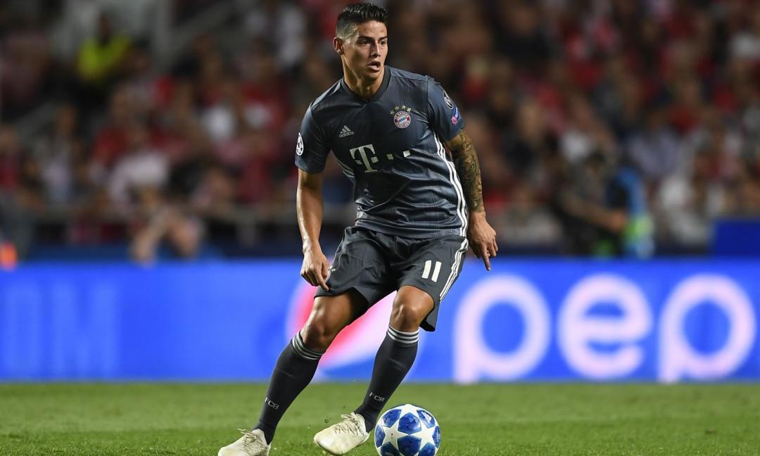 Dalla Germania: James è tra gli scontenti al Bayern Monaco