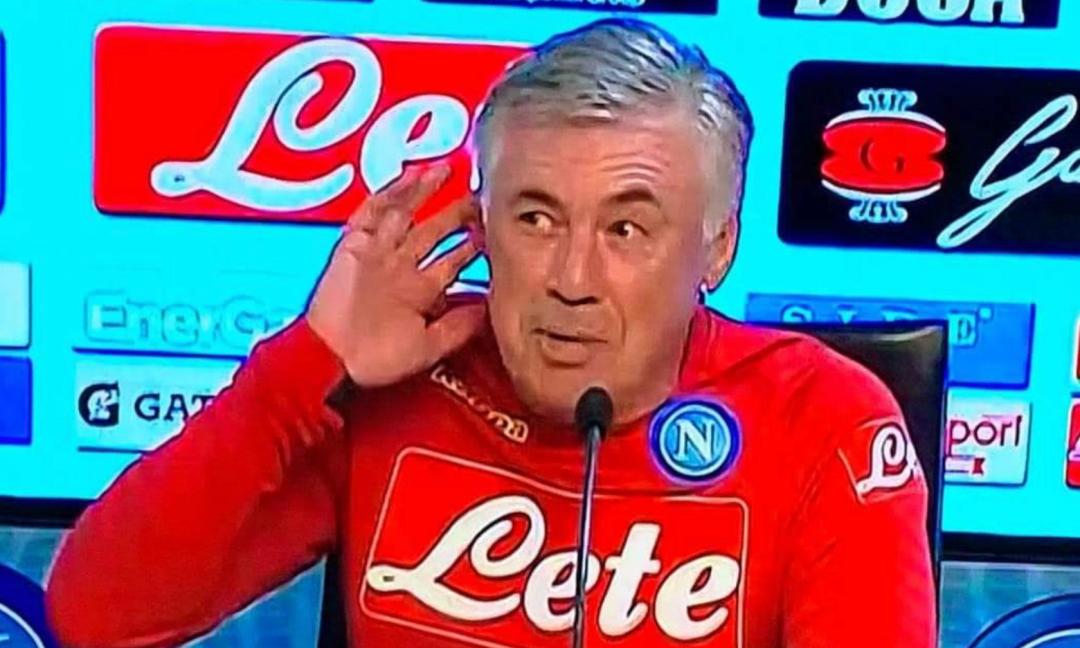 Ancelotti imita il gesto di Mourinho: 'Essere insultati non fa piacere'