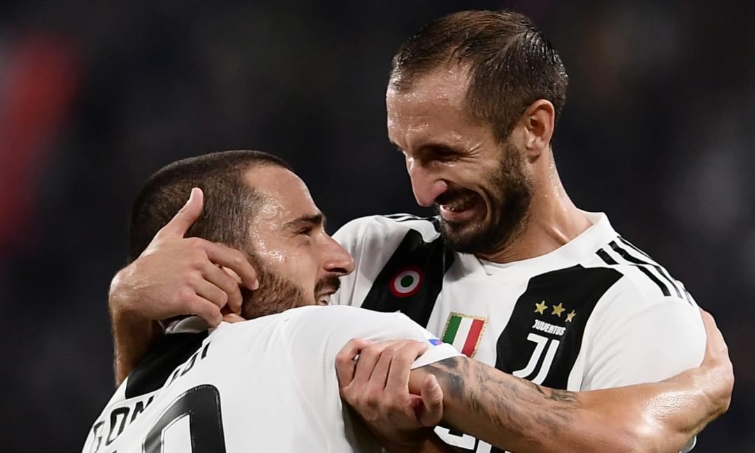 Evento Live Ahead: Bonucci e Chiellini con i vertici della Juve