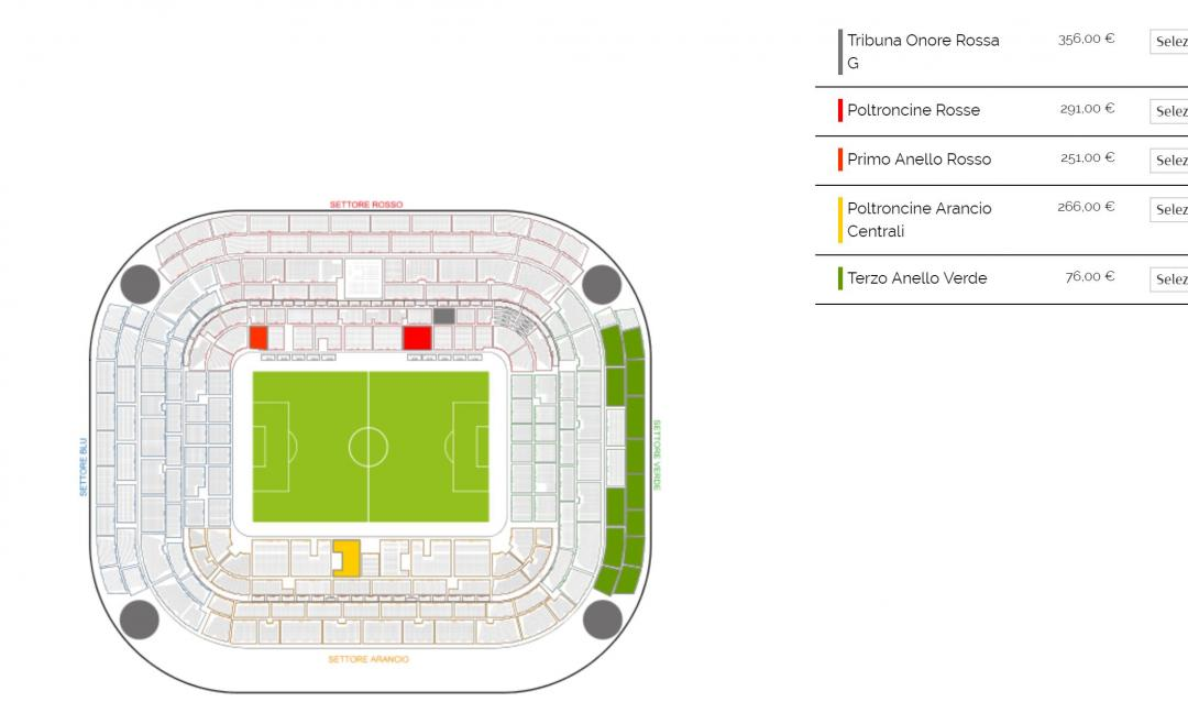 Milan-Juve, la protesta dei tifosi: settore ospiti vuoto per oltre l'80%!