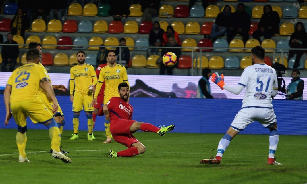 Benassi, poi la magia di Pinamonti: è 1-1 tra Frosinone e Fiorentina