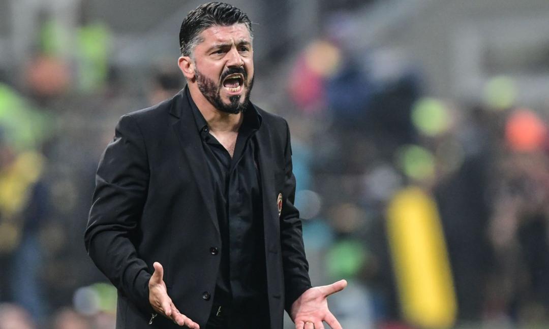 Milan, Gattuso: 'Higuain? Non sarà mai un problema. Su Juve-Inter...'
