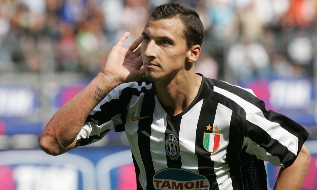 15 anni fa, il primo gol di Ibrahimovic con la Juventus
