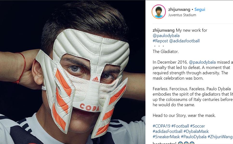 Cosa c'è dietro la Dybala Mask? VIDEO
