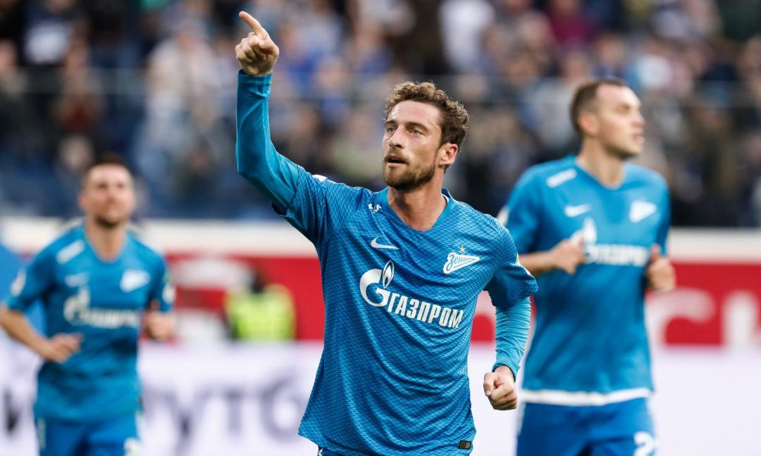 Zenit, infortunio per Marchisio: va in panchina in Europa League