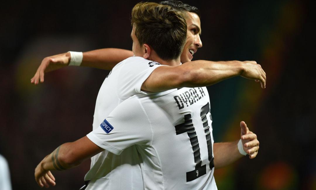 Ronaldo esulta come Dybala: la 'Siuu Mask' nasce da un patto