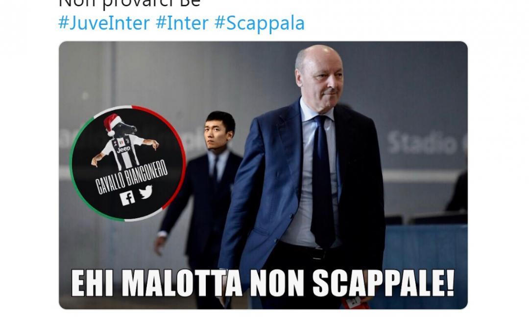#JuveInter, tutti i 'meme' più divertenti della notte social MAXI GALLERY