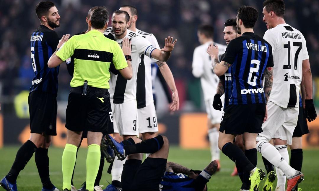 Juve-Inter, la MOVIOLA: Irrati promosso. Mancano gialli a Matuidi e Borja