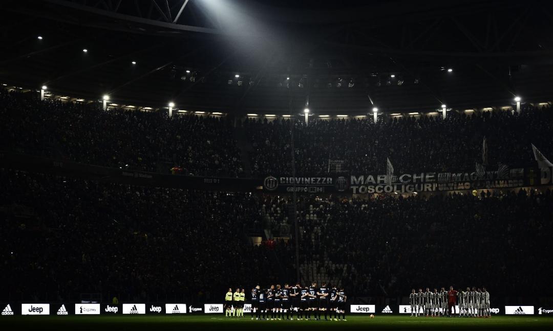 Juve-Inter: caos nel settore ospiti, aggredita una hostess