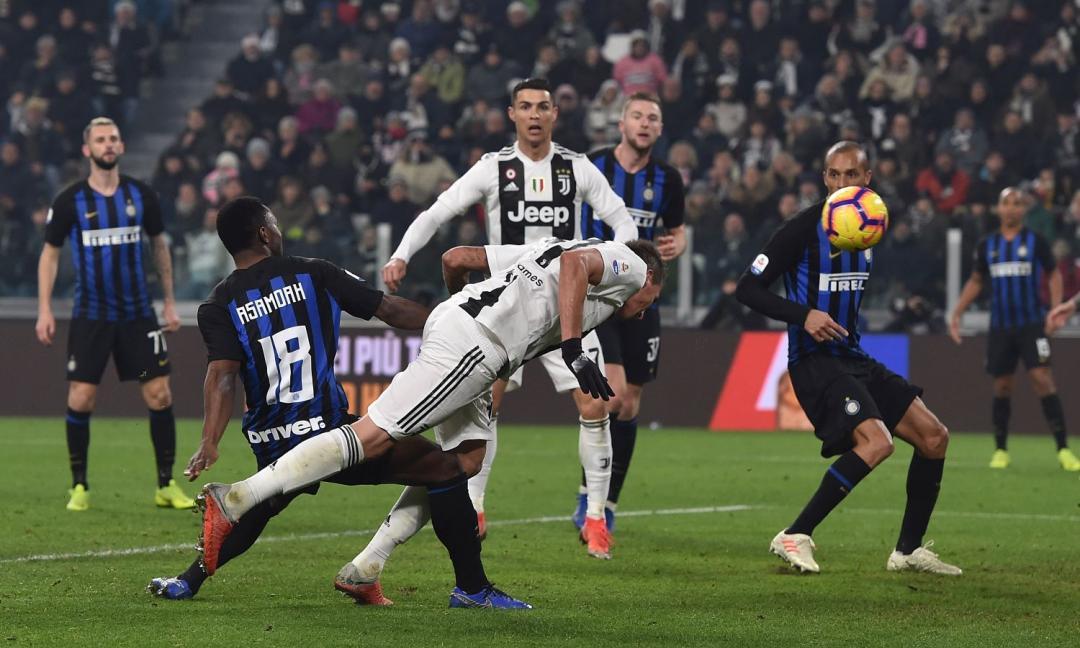 Dalla reazione al gol di Mandzukic: l'analisi tattica di Juve-Inter