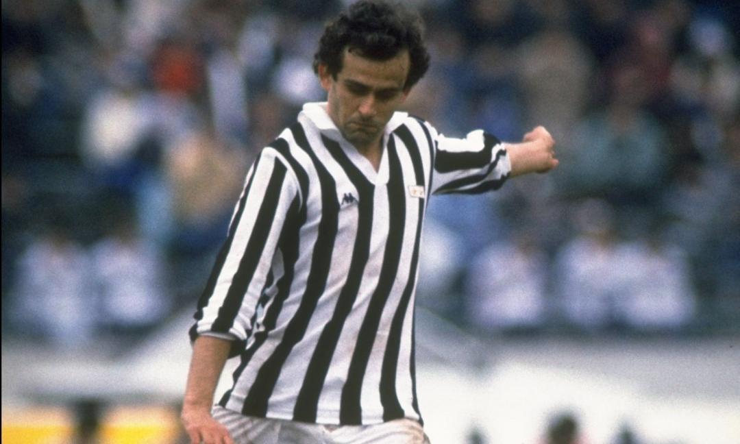 Juve, punizione da derby di Platini! VIDEO