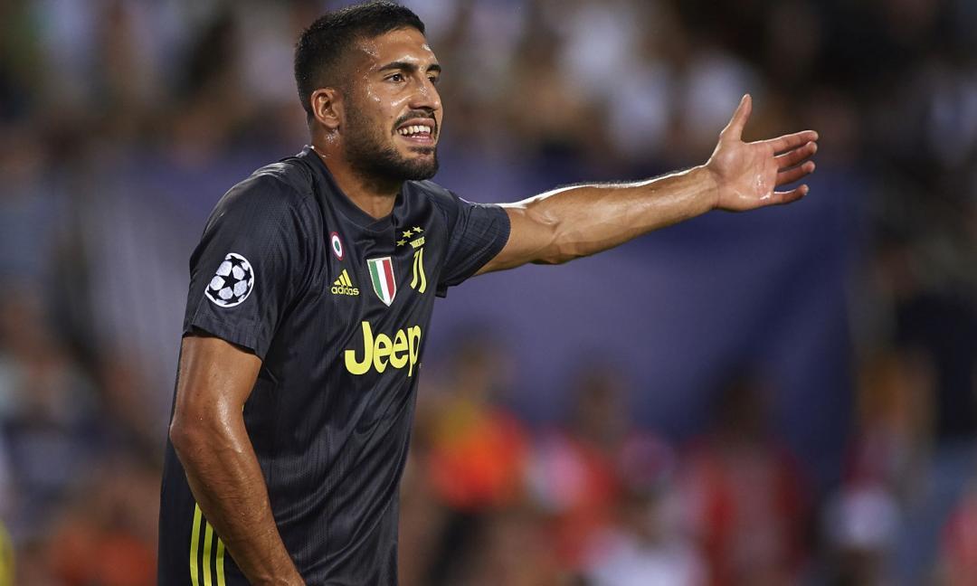 Emre Can sarà titolare: la Juve aspetta il colpo del 2019