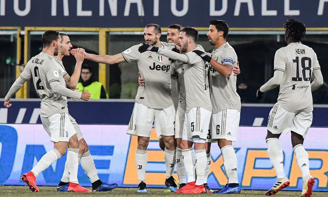 Juve ai quarti di Coppa Italia: Bernardeschi e Kean stendono il Bologna
