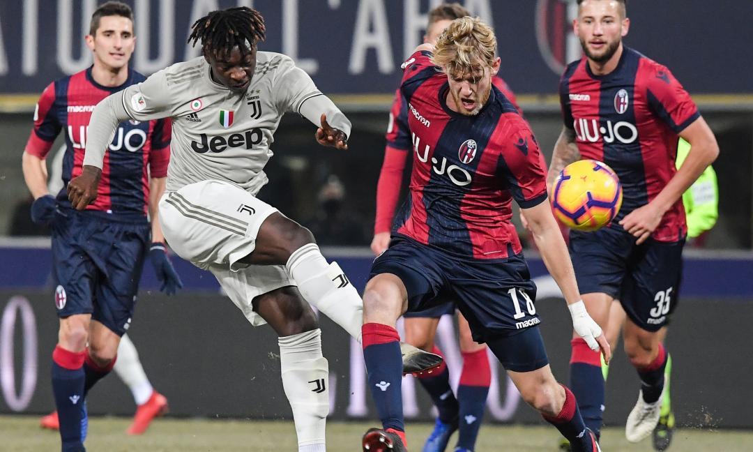 Bologna-Juventus 0-2, le pagelle: Kean, che segnale! Sbaglia De Sciglio