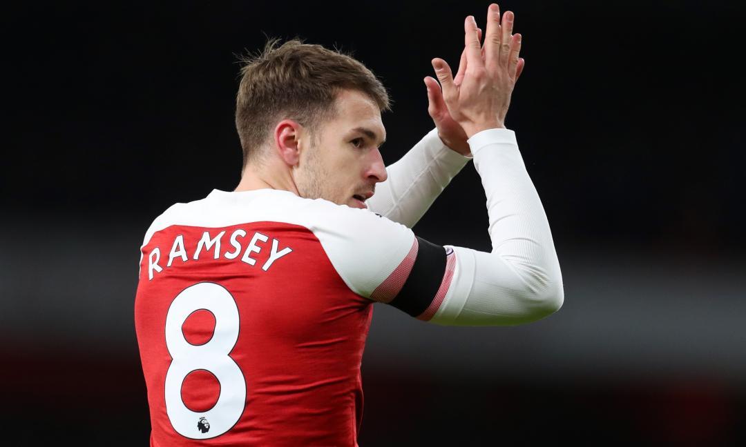 Ramsey a gennaio, avanti tutta: Allegri 'frena'... ma lo osserva in campo