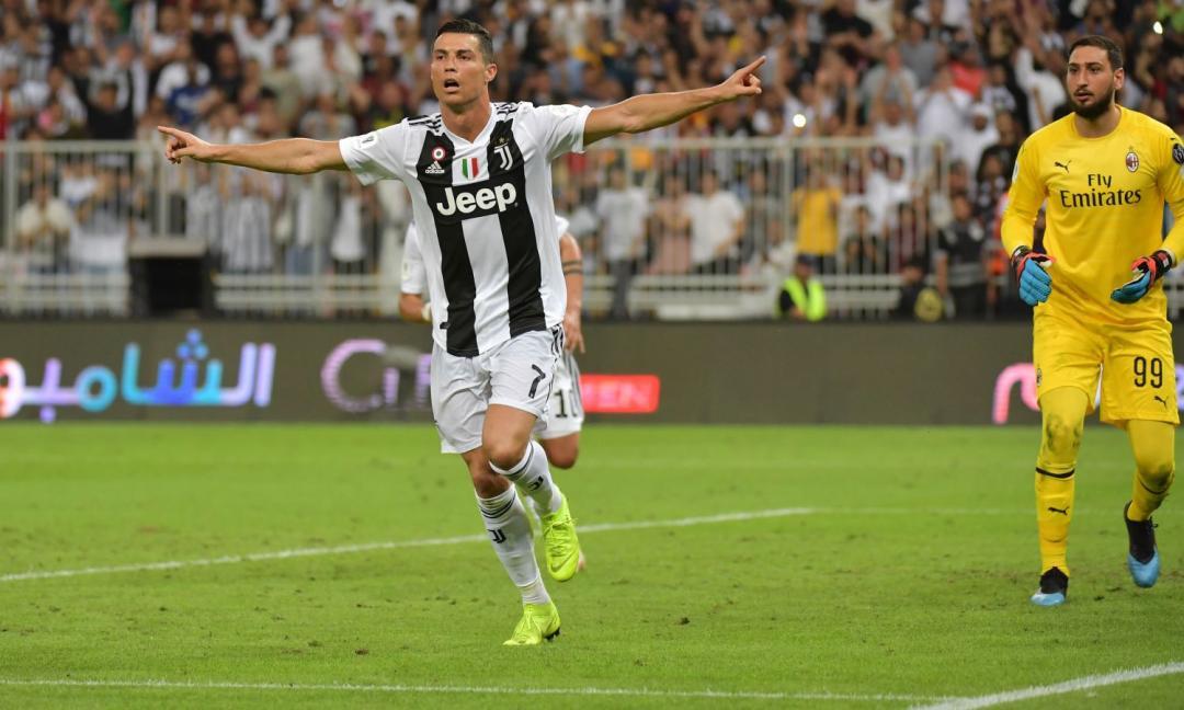 Juve, 'nasce' il coro per Ronaldo VIDEO