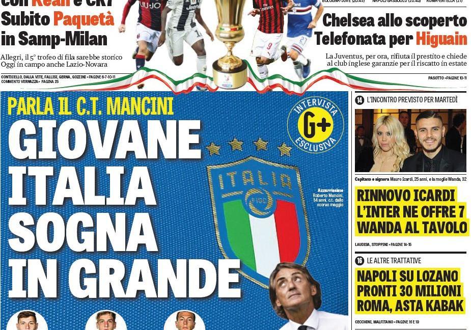 Dybala per Isco, 'Higuain ha deciso': le prime pagine dei quotidiani
