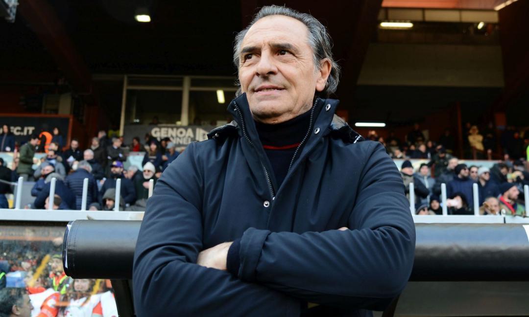 Genoa, Prandelli: 'Juve col 3-5-2? Ho cambiato strategia'