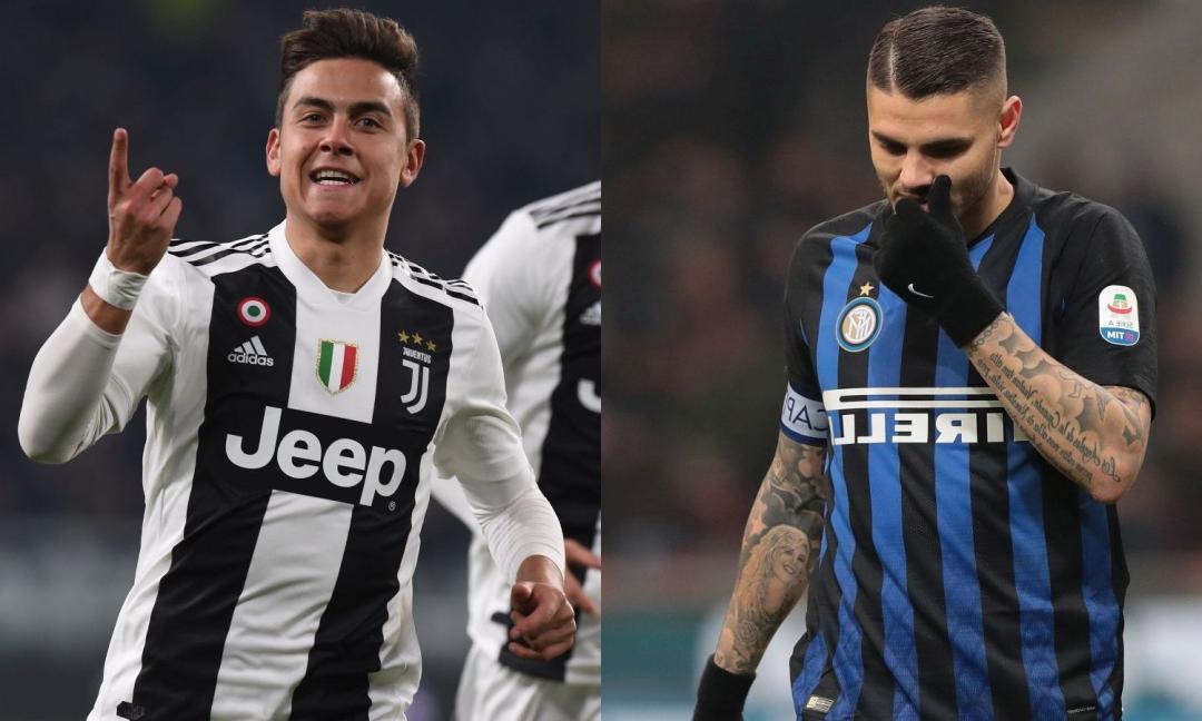 Valori Serie A: Dybala batte Icardi, Ronaldo il top. E' sfida Inter-Juve