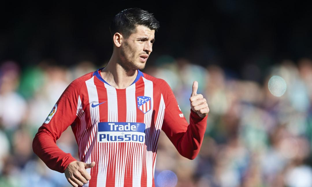 Atletico, Morata già in discussione: quel cartellino...