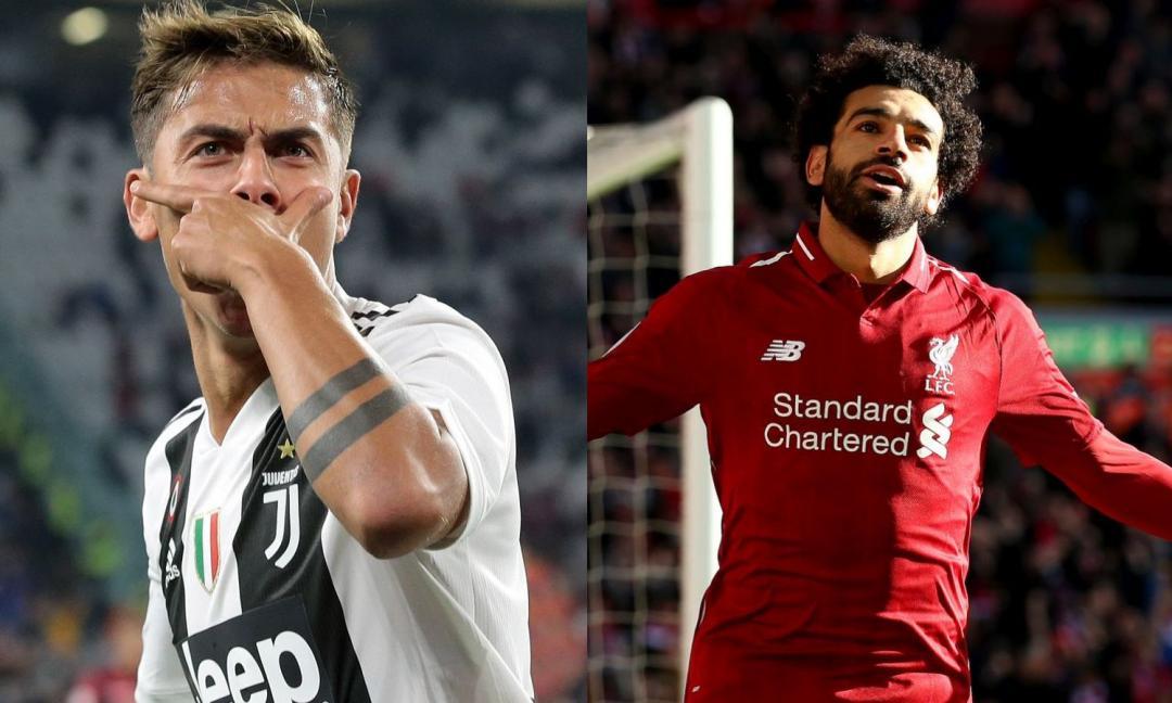 Salah alla Juve dipende da Dybala: le ultime