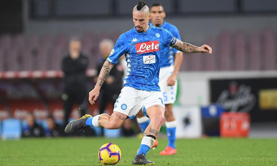 Hamsik, l'entourage: 'Al Napoli pesa l'assenza. La Juve...'