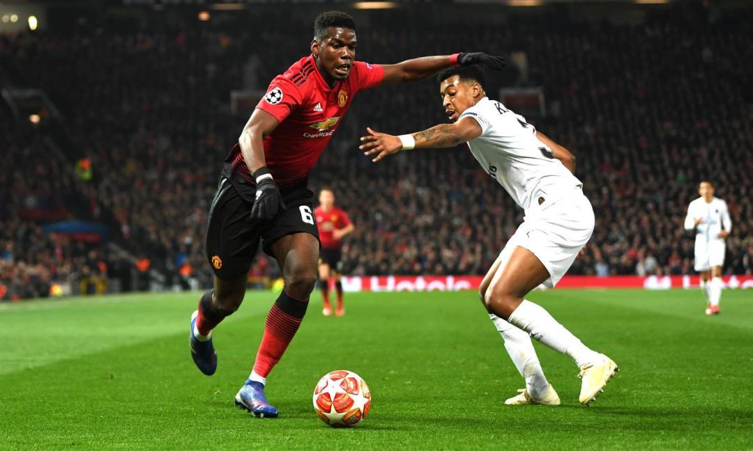 United-Psg, Pogba fa un fallo assurdo su Dani Alves: espulso! FOTO