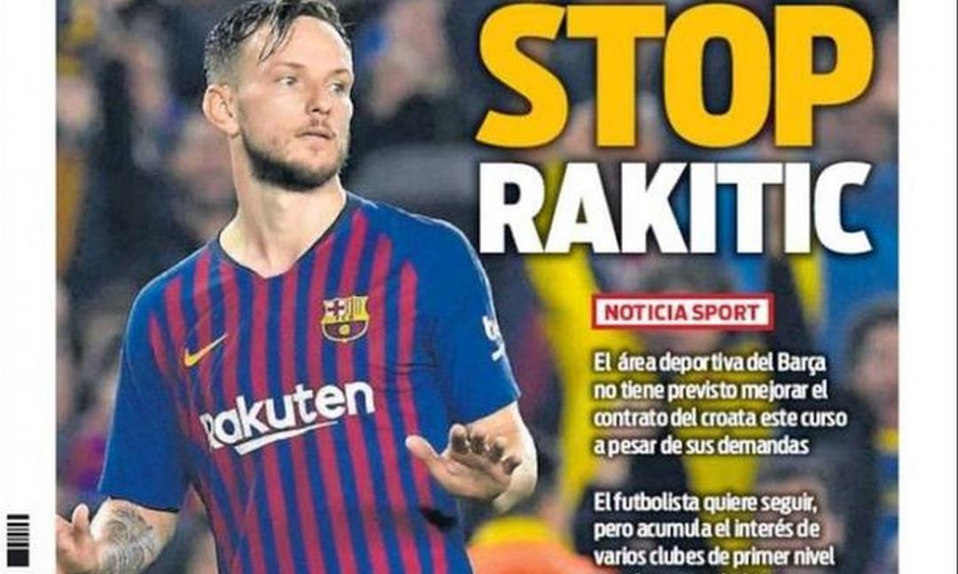 Rakitic: niente rinnovo con il Barcellona, c'è la Juve