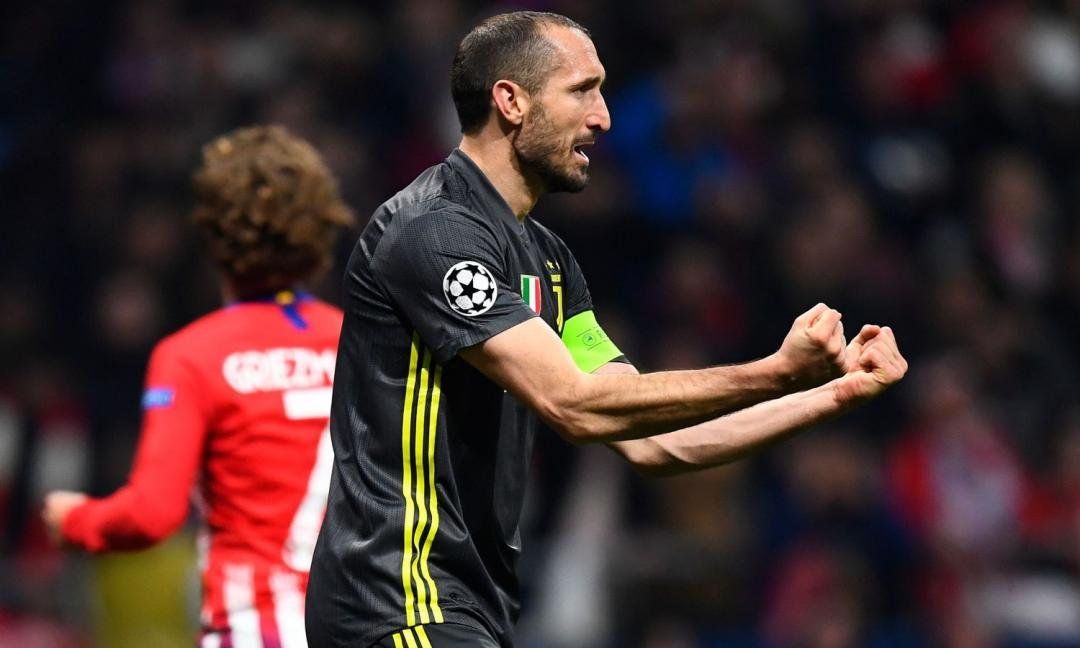 Chiellini, la Juve ricorda... le sue esultanze! VIDEO