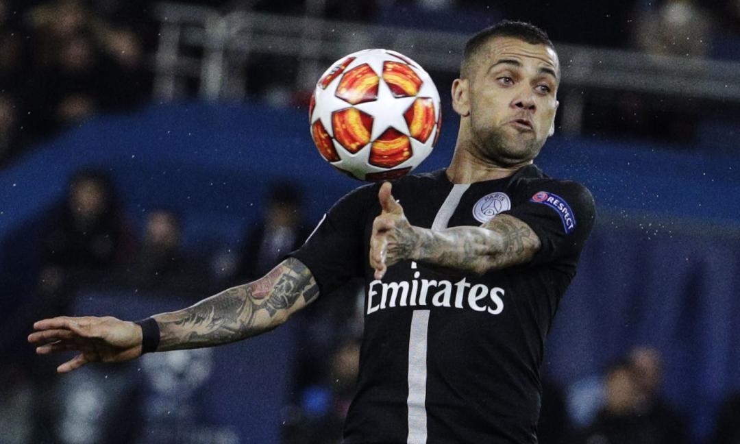 Dani Alves-City, operazione possibile grazie... alla Juve
