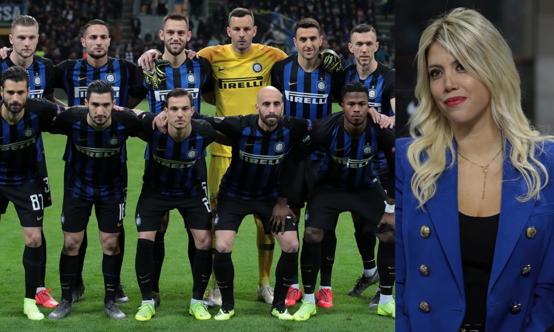 Ciao, Europa: Wanda Nara ha vinto più titoli dell'Inter