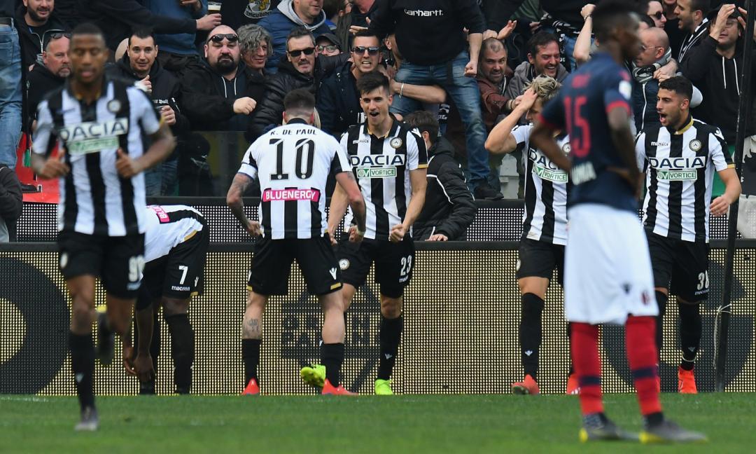 Qui Udinese: il momento di forma dei friulani è straordinario. E la difesa...