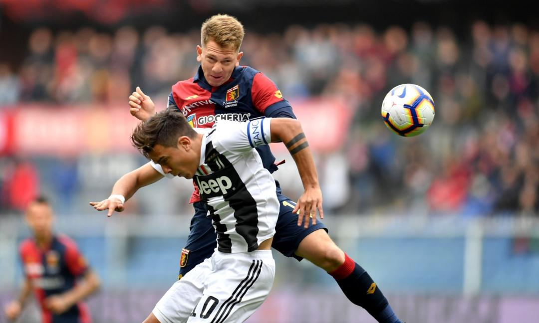 Genoa-Juventus 2-0, il tabellino