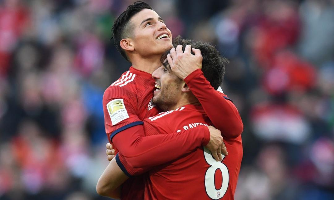 James, il Real lo 'scarica': si accende la sfida Juve-Atletico