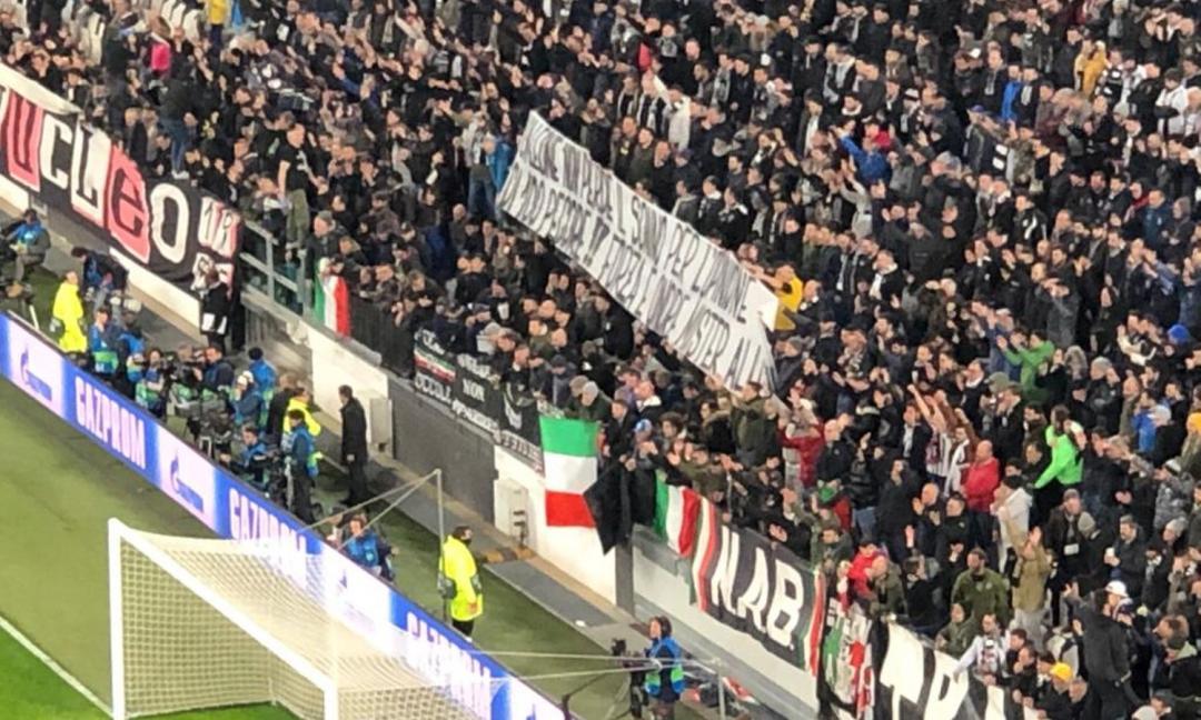 Pazzesco a Dortmund: striscione contro la Juve in Germania-Argentina