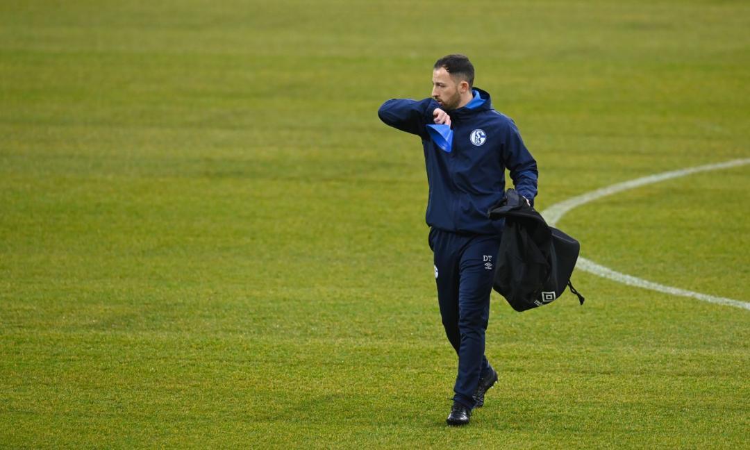 Tedesco ospite della Juve: l'ex allenatore dello Schalke è a Torino