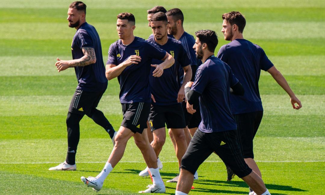 Juve, le novità dal doppio allenamento di oggi | ilbianconero.com