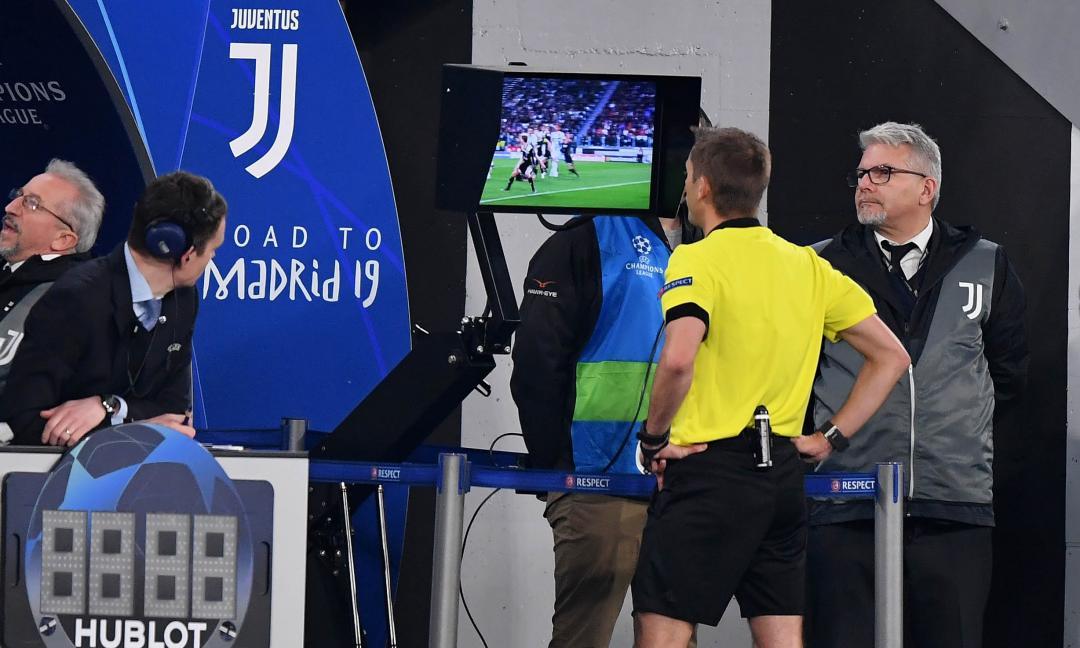 MOVIOLA: regolari i gol rivisti col VAR, negato un rigore alla Juve