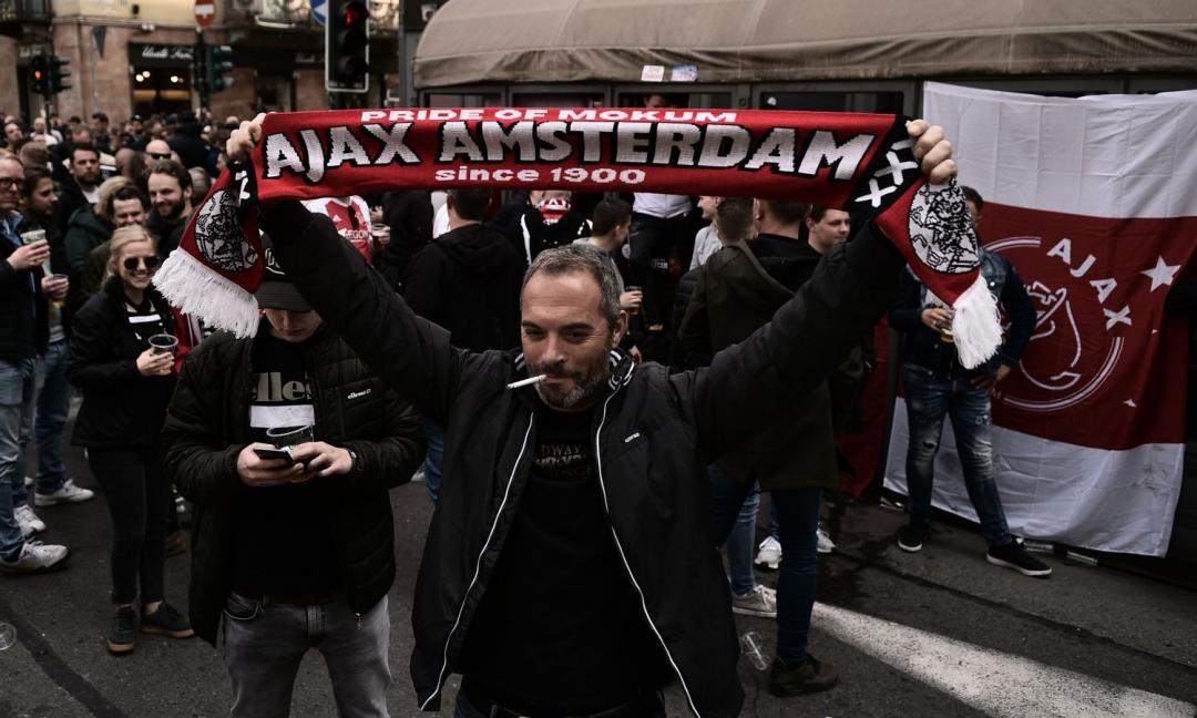 Juve-Ajax, tensione a Torino tra tifosi olandesi e polizia VIDEO