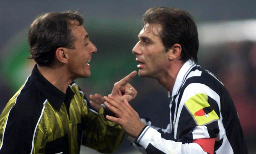 17 anni fa l'ultimo gol di Conte con la Juve