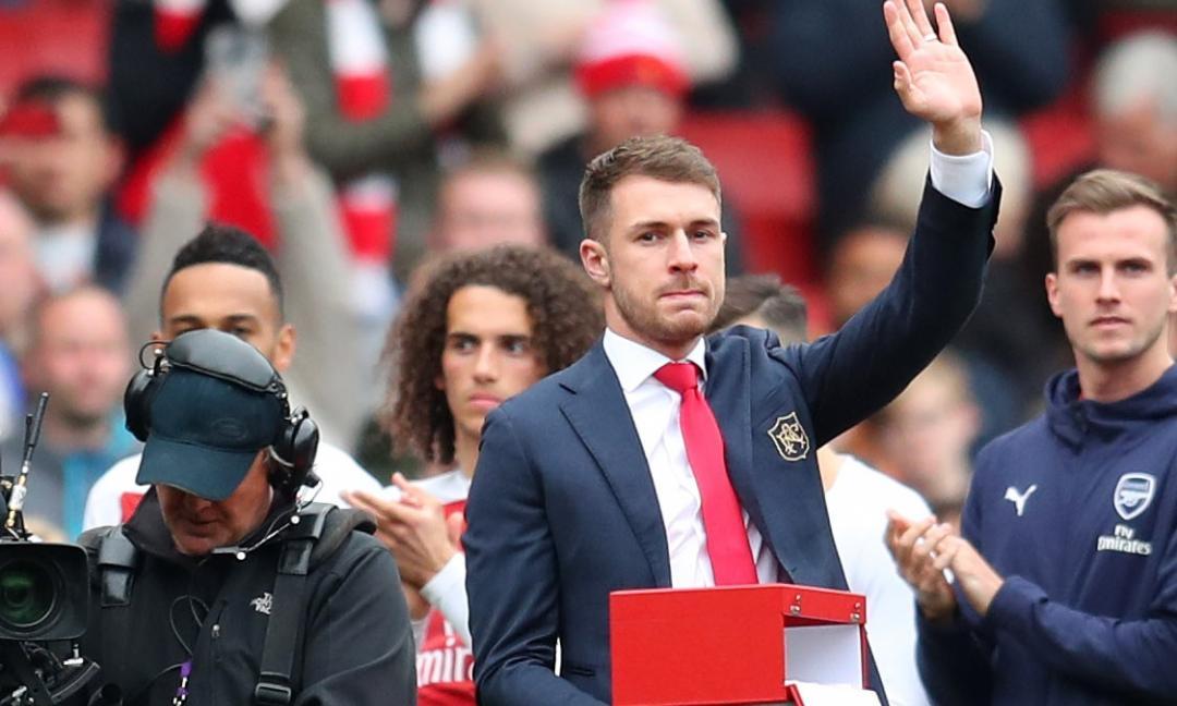 Juve, Ramsey è a Torino! FOTO