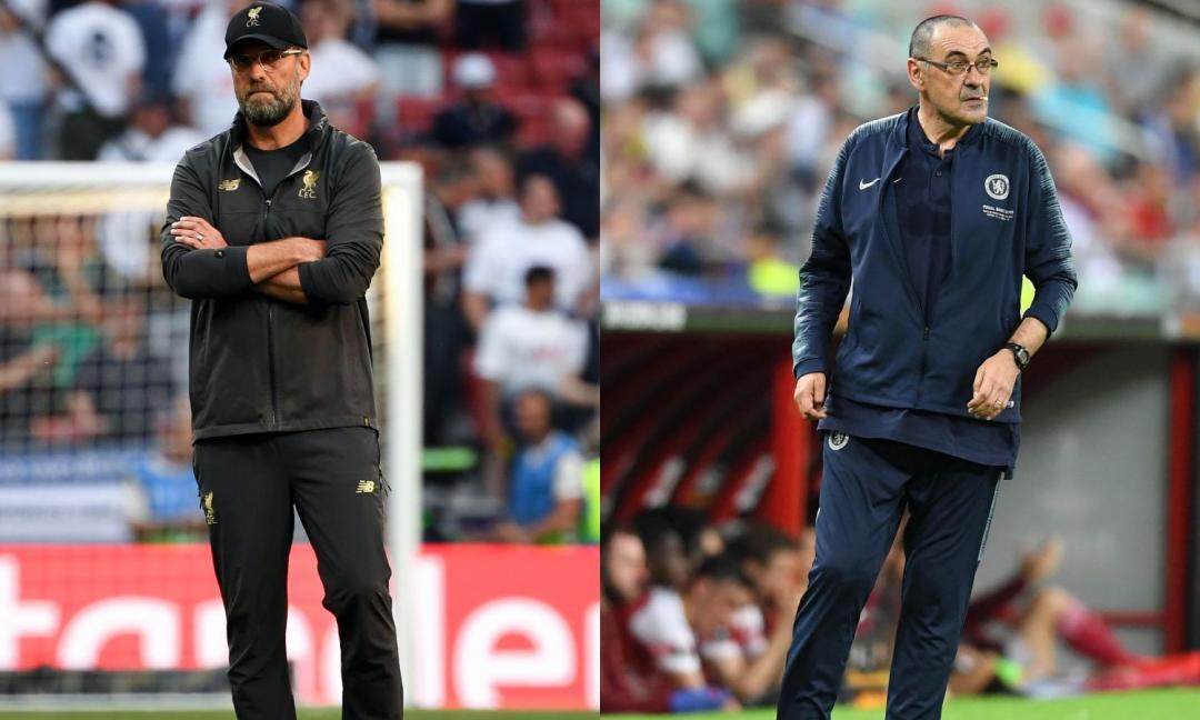 Klopp contro Sarri: pronta l'offerta per un obiettivo della Juve