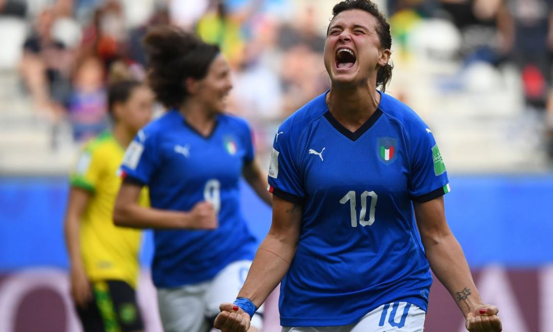 Italia femminile, che show: 6-0 alla Georgia, due gol 'bianconeri'
