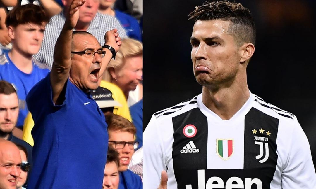 Oggi è il Sarri Day: prima la conferenza stampa, poi vola da Ronaldo