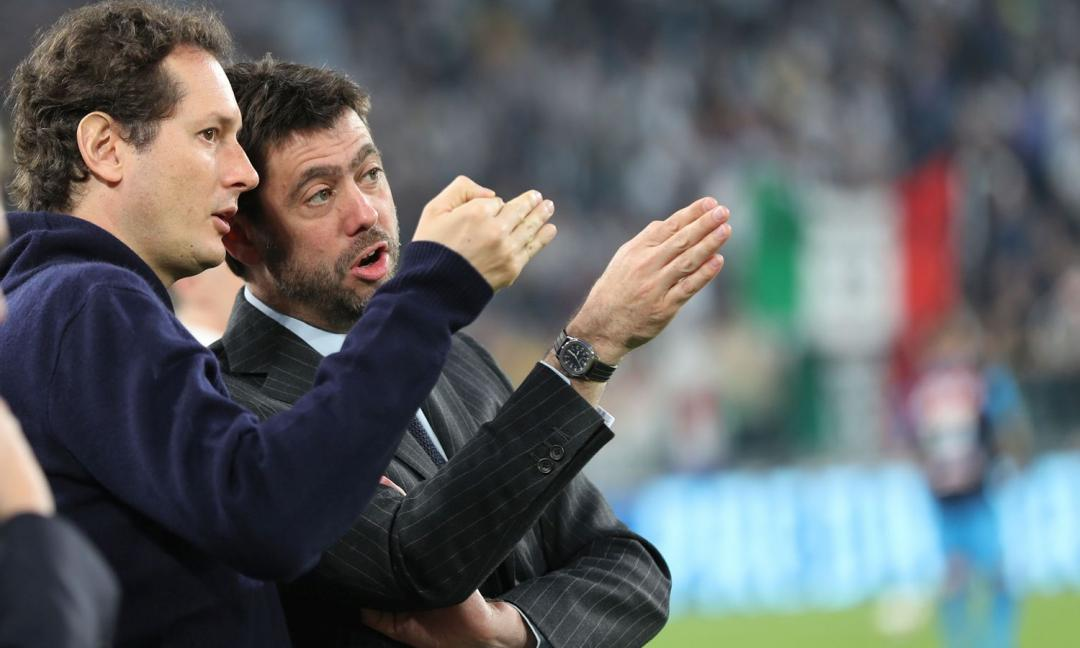 Elkann: 'Sarri è felice della Juve e del mercato. Bello essere qui con Agnelli'
