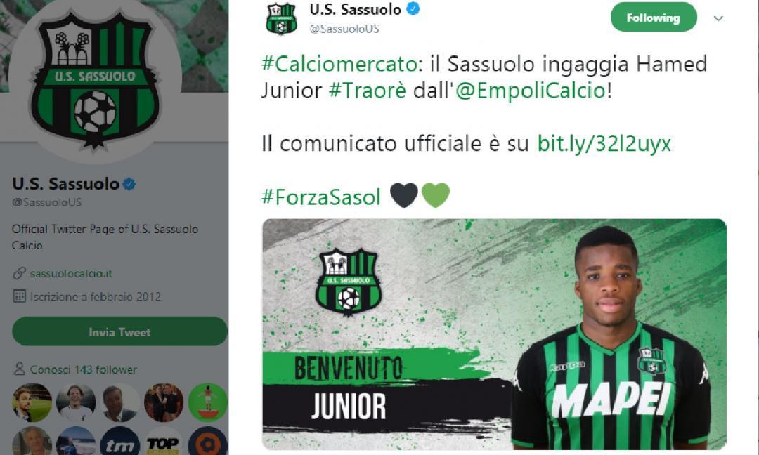 UFFICIALE: Traorè al Sassuolo! Il punto sulla sinergia Juve