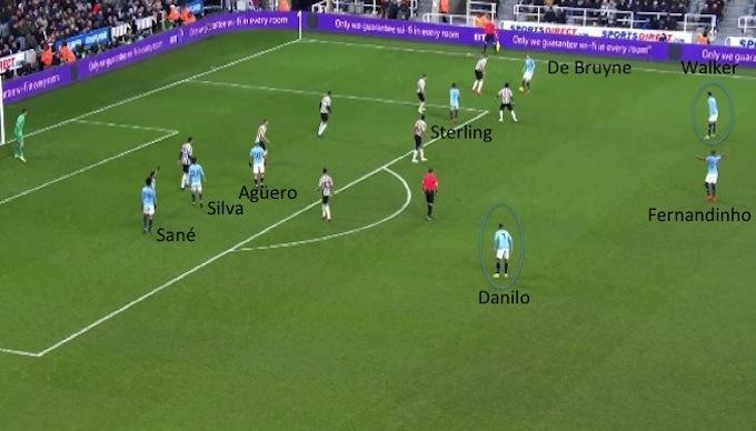 Cancelo, troppi errori nei '70 metri di Sarri', Guardiola ha migliorato Danilo