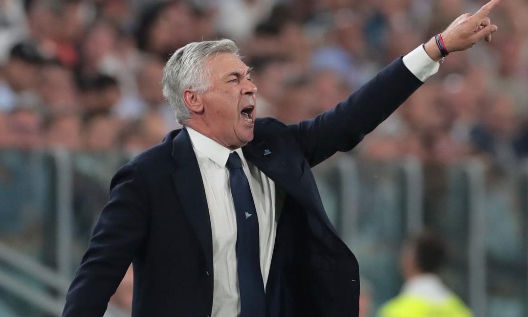 Napoli, Ancelotti: 'Scudetto? Juve favorita, ma l'Inter c'è'